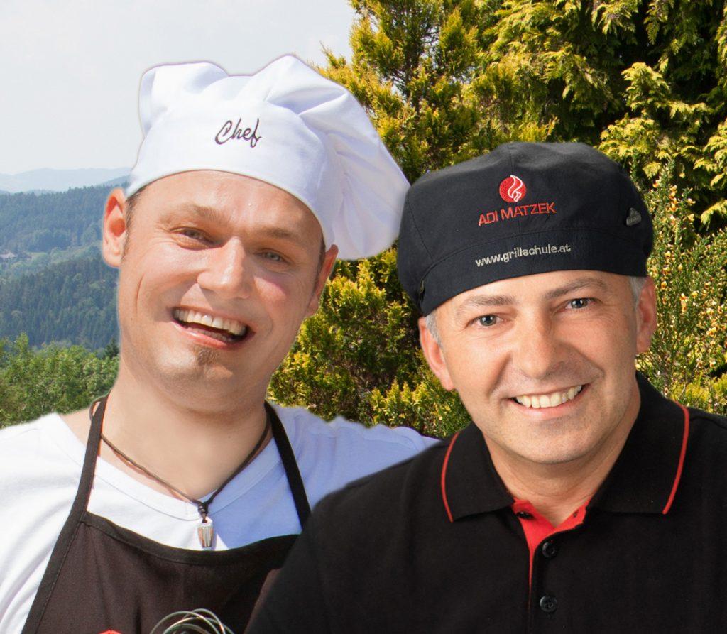 Adi Matzek und Rocky Roman