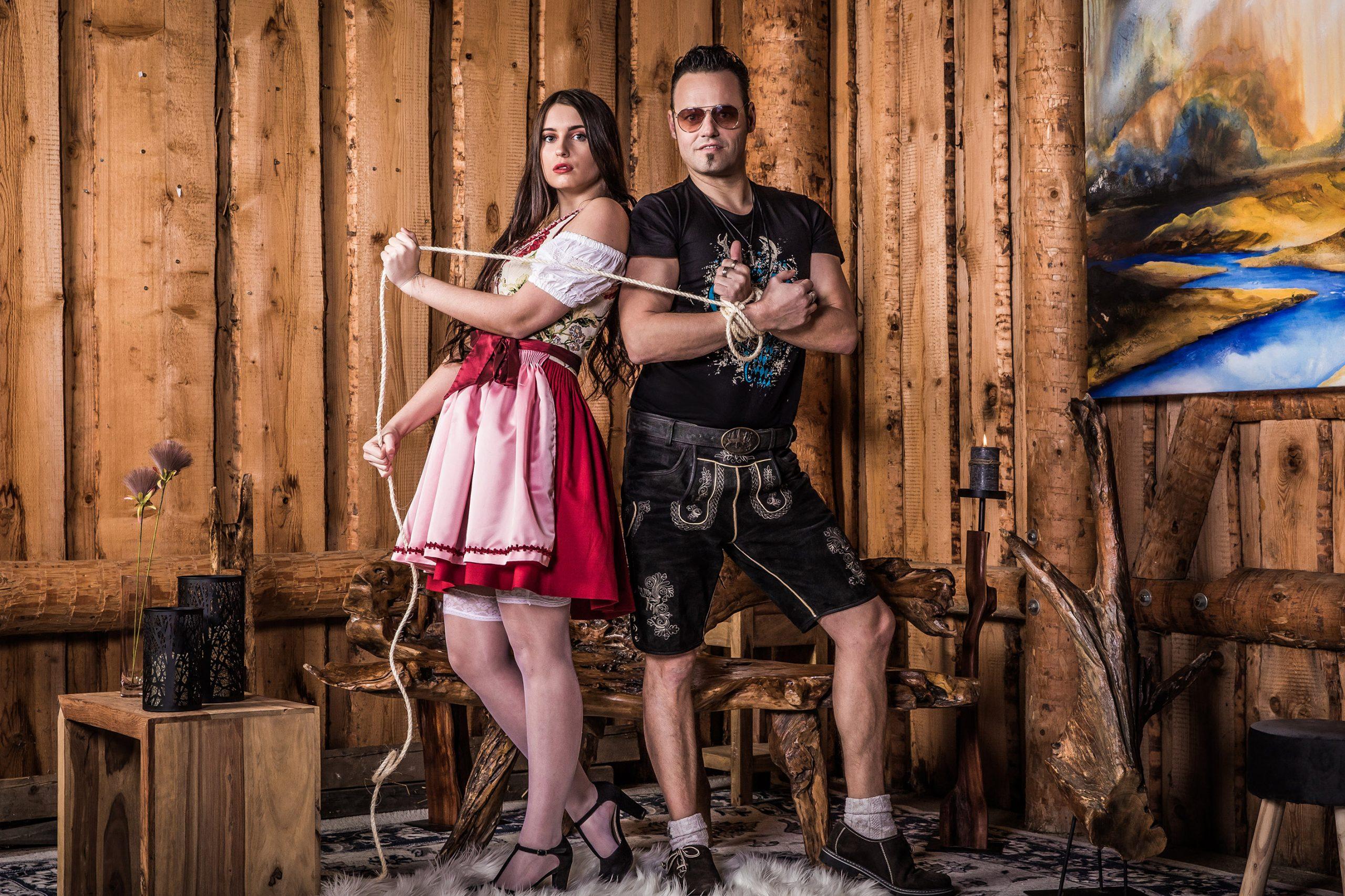 Rockenschaub: Mundart-Schlager mit Poledance-Video
